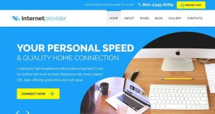 Internet Joomla Website Templates